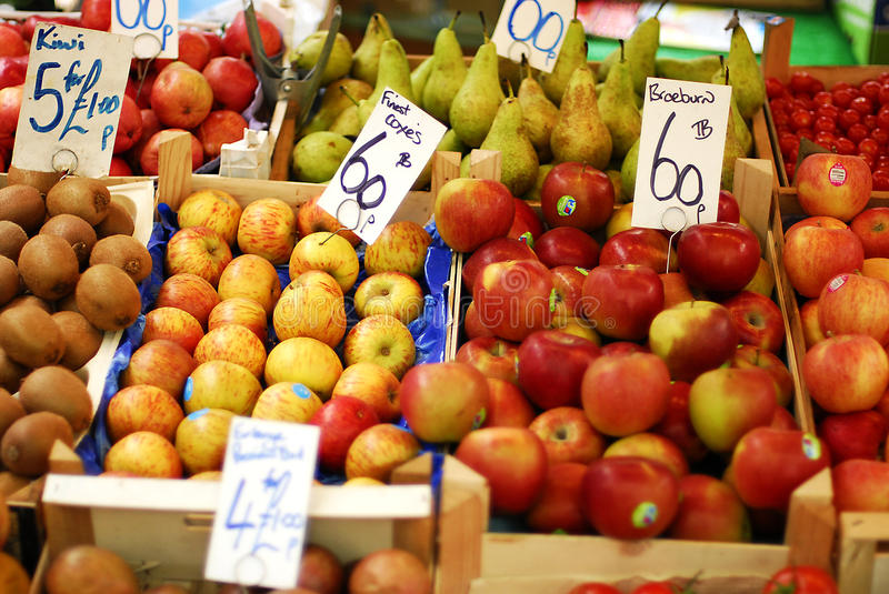 Download An outdoor fruit market stock photo. Image of market - 33053942