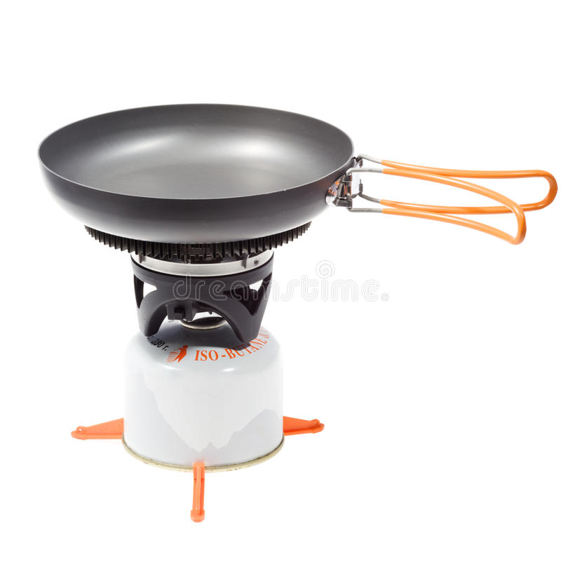 Outdoor Fry Pan Stock Images