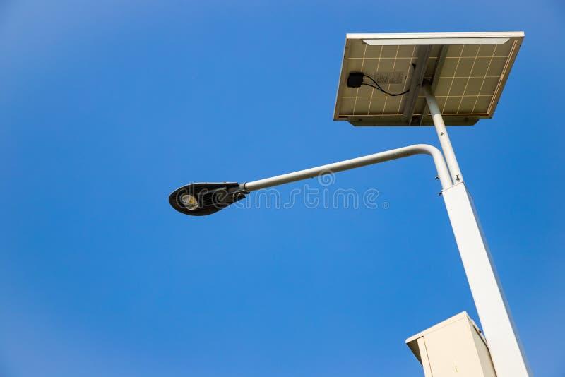 Outdoor LED Lighting, Cloud and blue sky.  stock photos