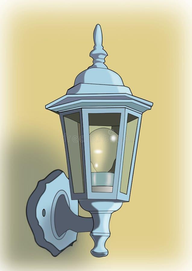 Download Outdoor Light stock illustration. Illustration of bulb - 21894014
