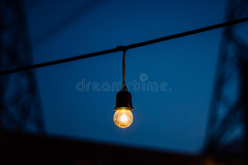 Outdoor light royalty free stock images