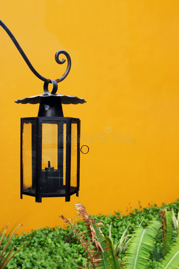 Outdoor lighting - copy space royalty free stock photography