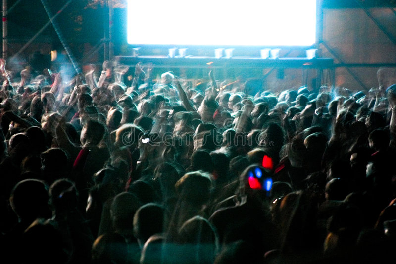 Download Outdoor party stock image. Image of nightscene, people - 2792991