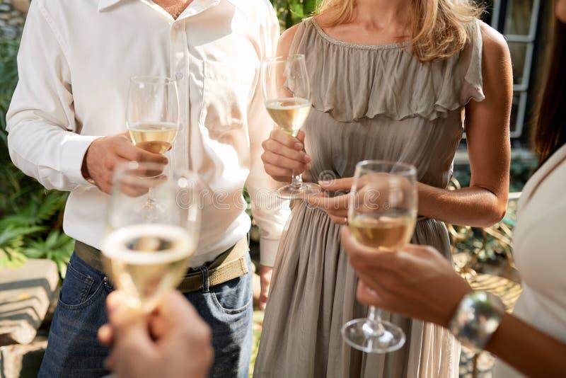 Outdoor party stock photos