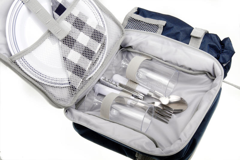 Download Outdoor picnic bag stock image. Image of combinations - 11530141
