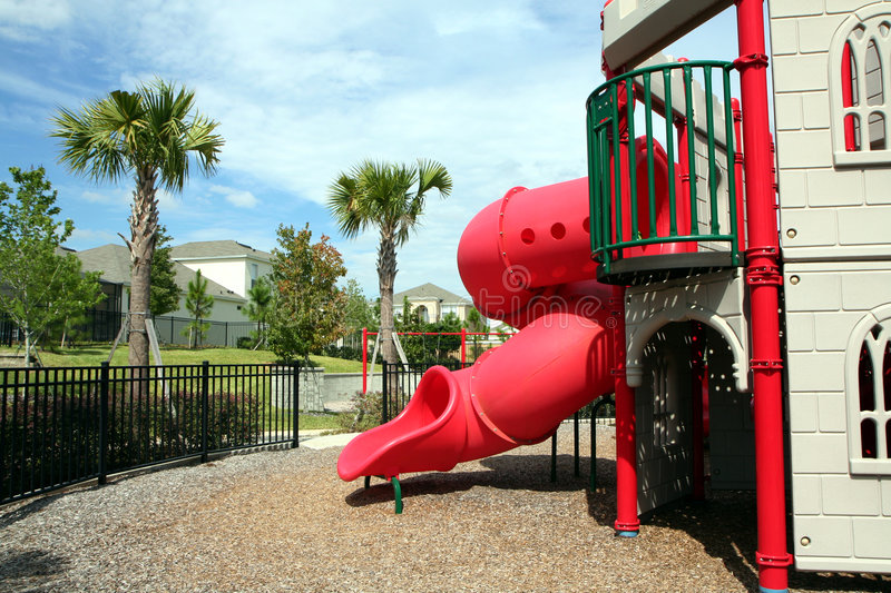 Download Outdoor Playground Stock Photo - Image: 1412100