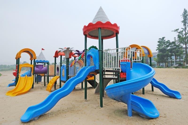 Download Outdoor Playground stock photo. Image of children, orange - 25517944
