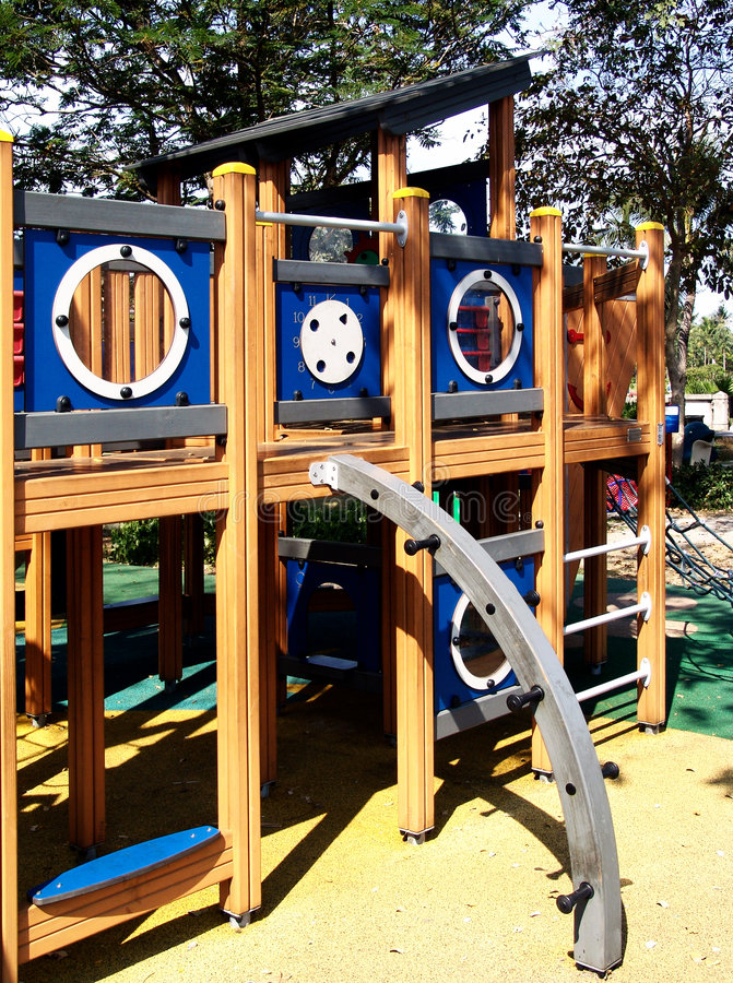 Download Outdoor playground stock photo. Image of material, leisure - 7601166