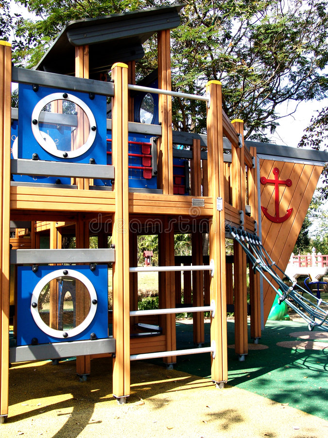 Download Outdoor playground stock image. Image of discover, discovery - 7601205