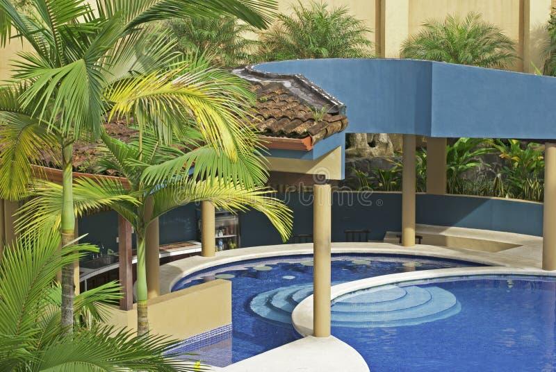 Download Outdoor Pool In The Tropics Stock Image - Image of resort, nobody: 16829737