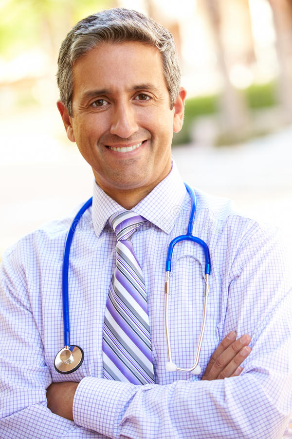Download Outdoor Portrait Of Male Consultant Stock Photo - Image: 35801852