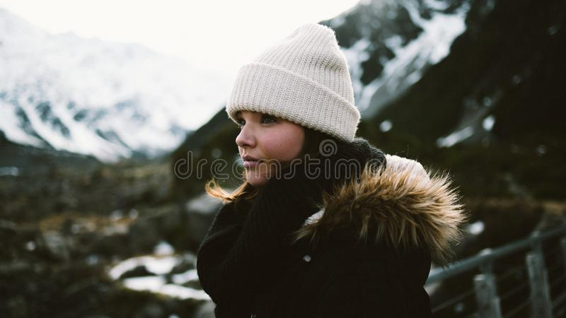 Outdoor Portrait Of Woman In Mountains Free Public Domain Cc0 Image