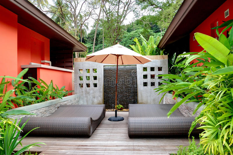 Download Outdoor Recreation Area Of The SPA Center Stock Image - Image: 20315275