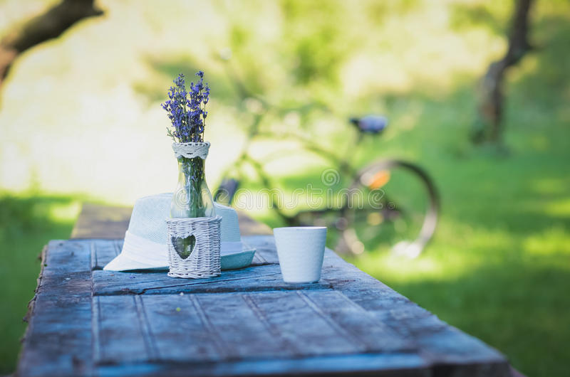 Outdoor recreation at the weekend stock photo