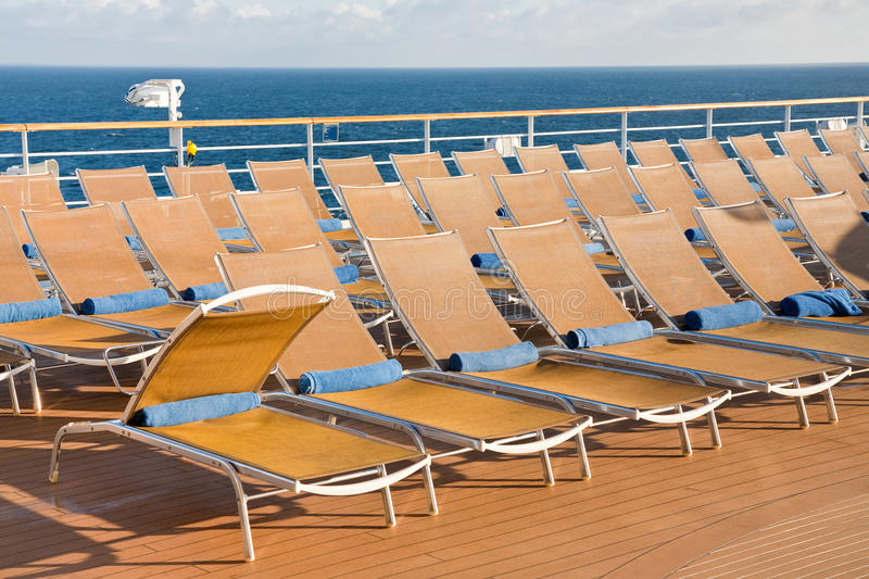 Download Outdoor Relaxation Area On Cruise Liner Stock Image - Image: 21599579
