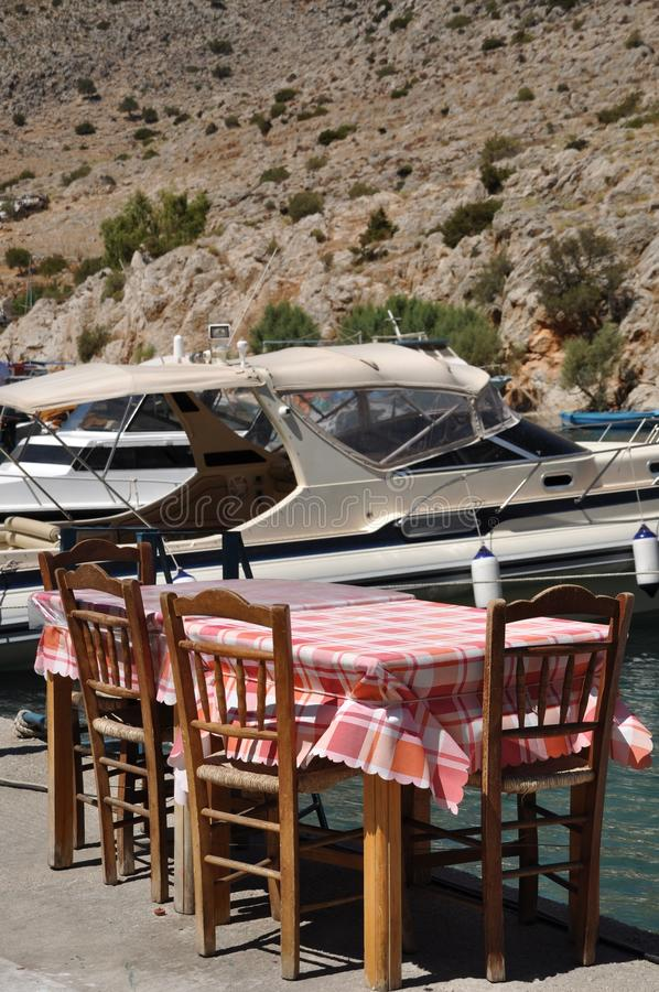 Download Outdoor restaurant stock photo. Image of outside, harbour - 16253306