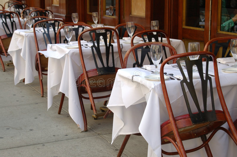 Download Outdoor restaurant sitting stock image. Image of fancy - 109905
