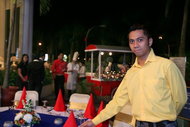 Download Outdoor Restaurant Staff Or Waiter Stock Image - Image: 4902603