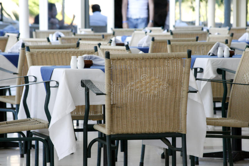 Download Outdoor restaurant table stock image. Image of furniture - 10667659