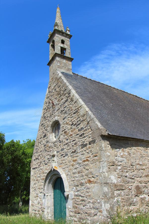 Saint Roch chapel in Plourin. Outdoor of Saint Roch chapel in Plourin royalty free stock photo