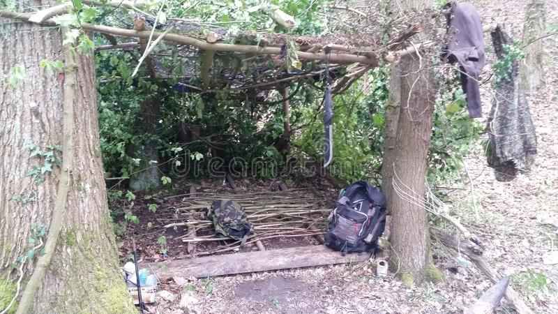 Outdoor shelter royalty free stock photos
