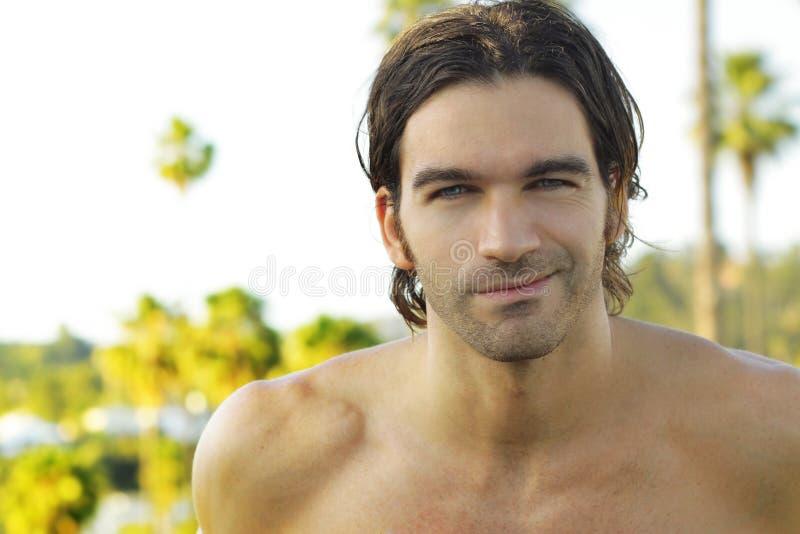 Outdoor Smiling Guy Stock Photos