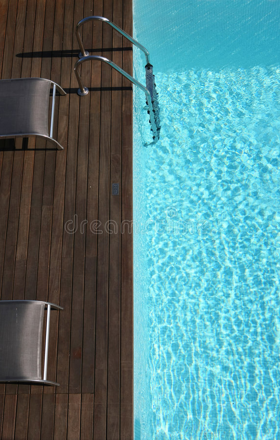 Download Outdoor space with a pool stock photo. Image of elegant - 8602440