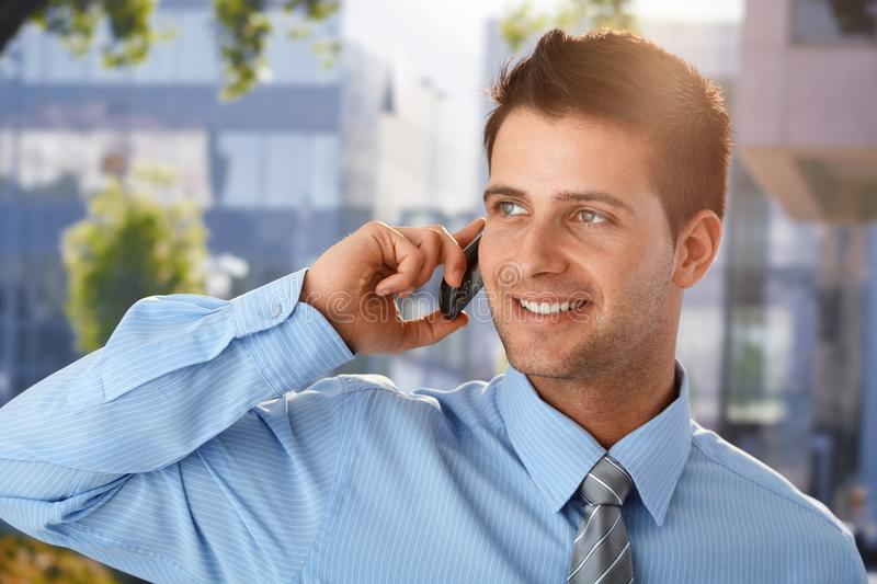 Download Outdoor Spring Portrait Of Businessman Stock Photo - Image: 20531560