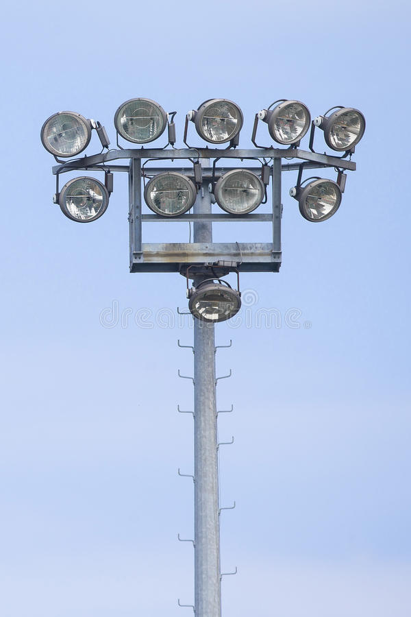 Outdoor stadium lights stock image image of electronics 31036313 outdoor stadium lights mozeypictures Choice Image