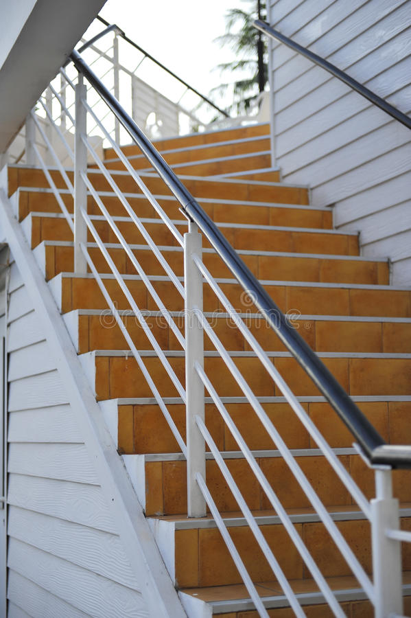 Outdoor Stair Stock Photography