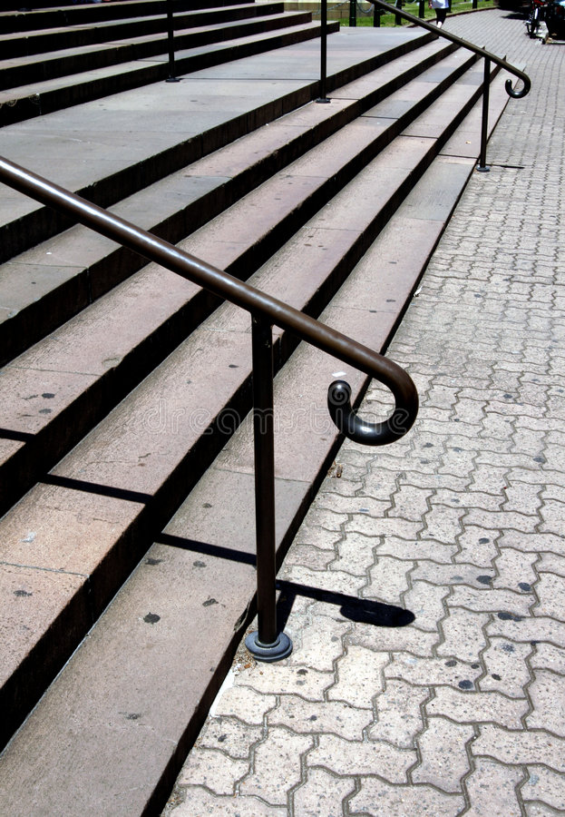Outdoor Stairs royalty free stock images