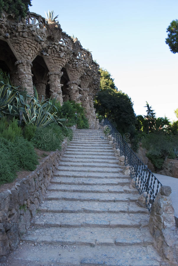 Download Outdoor stairs stock photo. Image of spain, stairs, park - 21119694