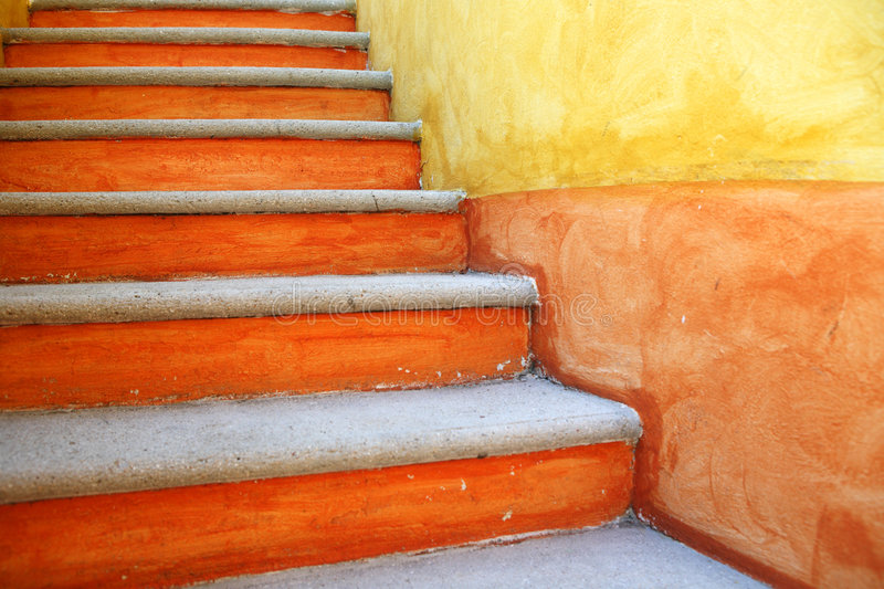 Outdoor stairs. stock images