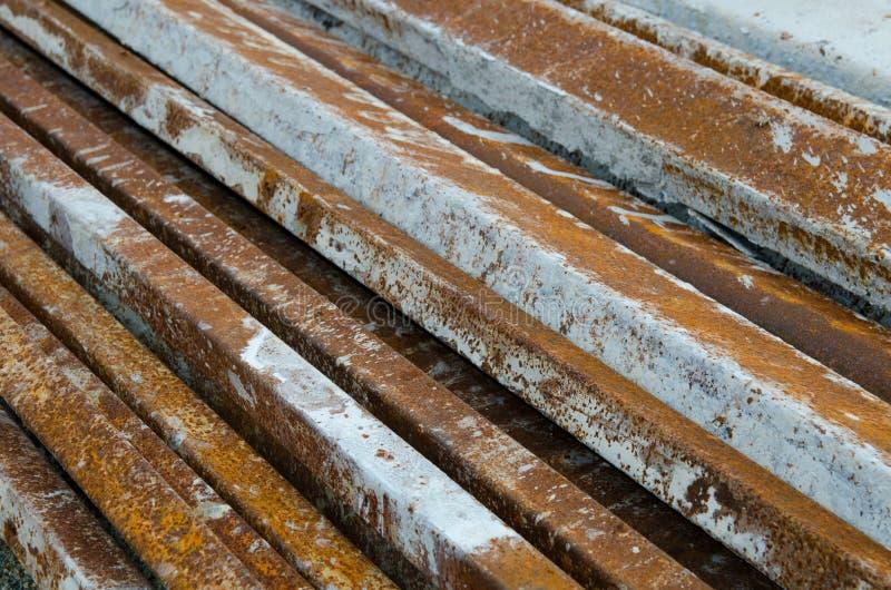 Steel bar stock photography