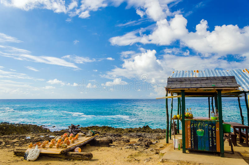 Download Outdoor Tropical Bar And Souvenirs Stock Photos - Image: 28669053
