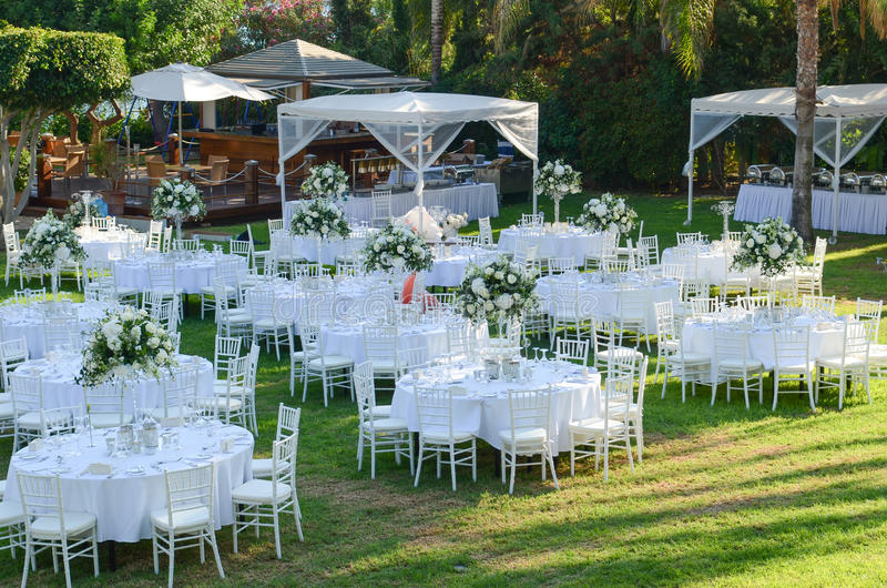 Outdoor wedding reception wedding decorations stock photo image download outdoor wedding reception wedding decorations stock photo image of decoration event junglespirit Image collections