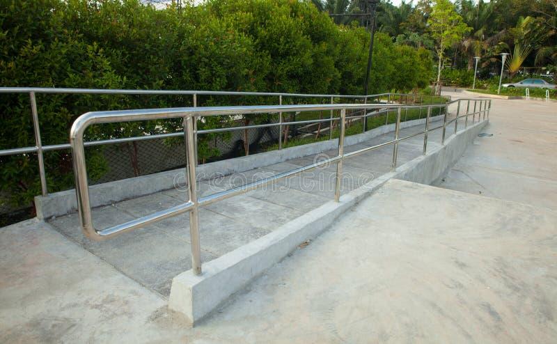 Download Outdoor Wheelchair Ramp Stock Photo   Image: 82999769
