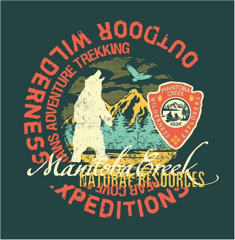 Free Outdoor Wilderness Expedition Adventure Manitoba Creek Trekking Stock Photos - 112056043