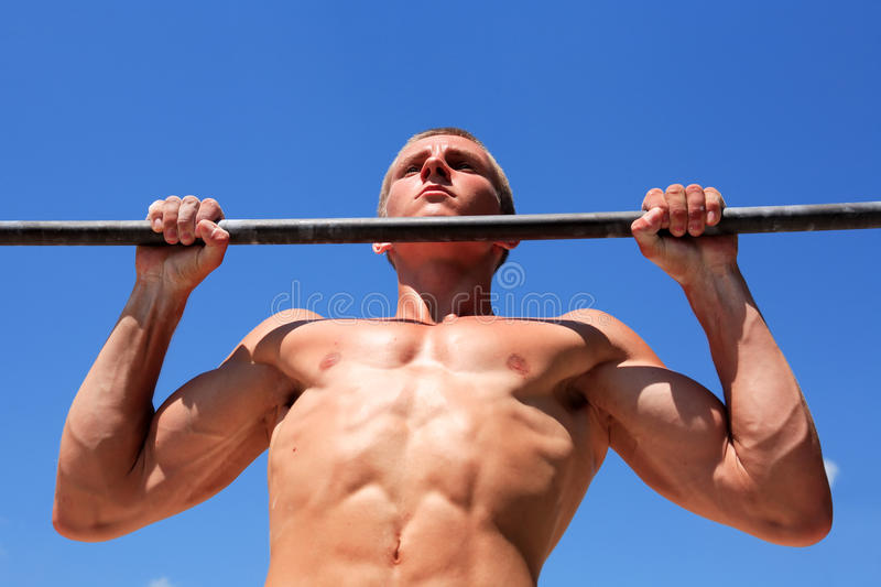 Download Outdoor Workout stock image. Image of strength, summer - 33075105