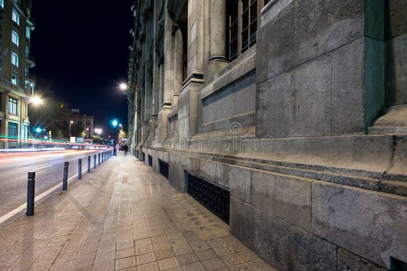 Outdoors на ноче стоковые изображения rf