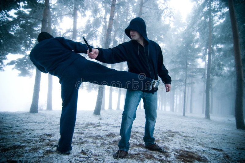 Outdoors combat