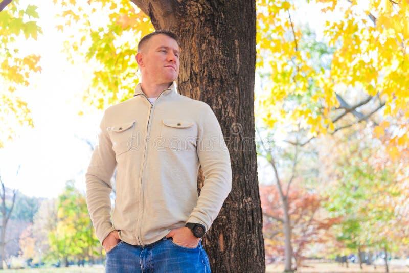 Outdoors Man royalty free stock photo
