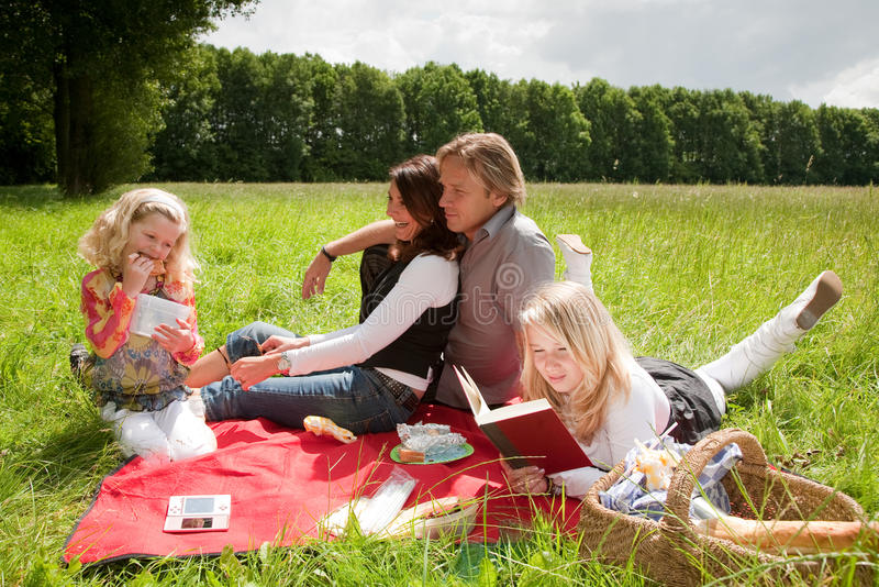 Download Outdoors picnic stock image. Image of girl, beauty, mother - 9891947