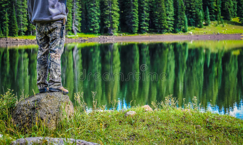 Outdoorsman fotografia royalty free