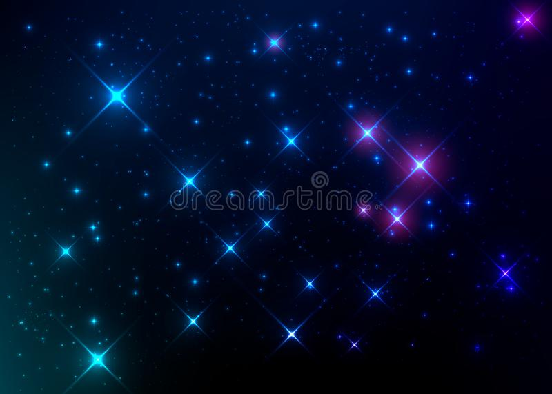 Bright and colorful nebulae. Stellar wallpaper. royalty free stock photos