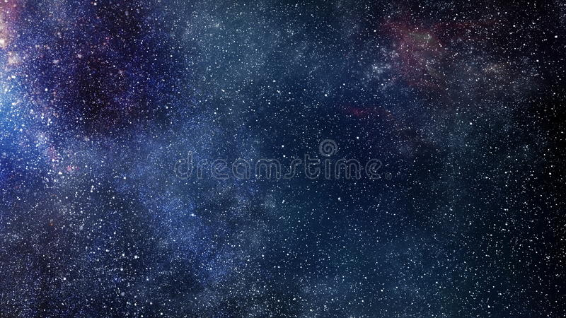 Outer space royalty free illustration