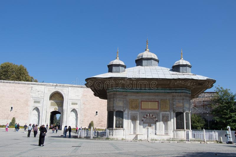 Outer view of dome in Ottoman architecture. In, Istanbul, Turkey stock images