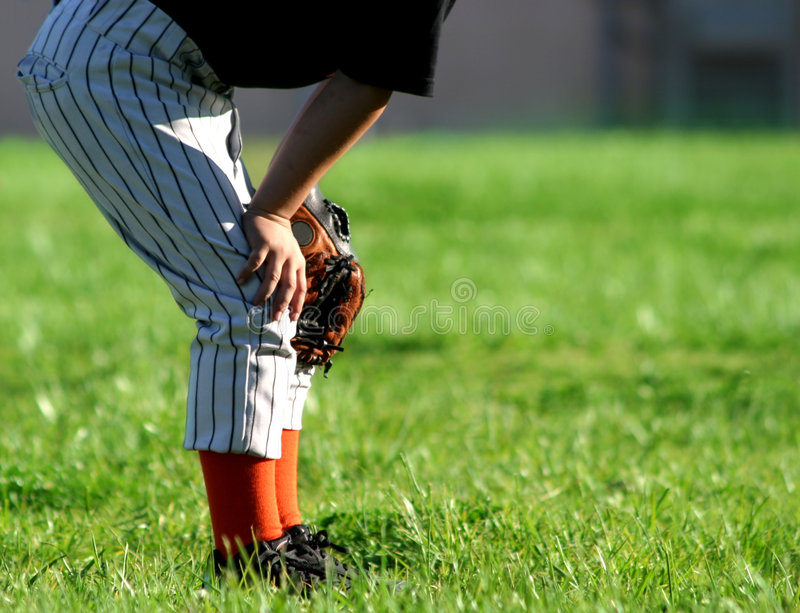 Outfield royalty free stock image