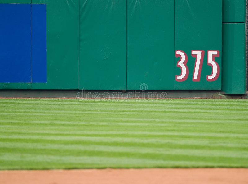 Download Outfield Dimensions Stock Image - Image: 2987191