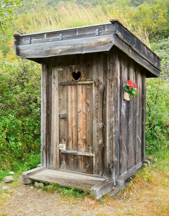outhouse стоковое фото